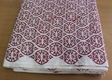 5 Yard Indian Fabric Cotton New Madani  Print Hand Block print Fabric 024