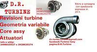 turbina 1.5 DCI k9k 78 KW 106 CV megane scenic micra COREASSY CORE ASSY GARANZIA