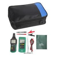 MY6818 Cable Tracker Metal Pipe Locator Detector Tester Line Tracker 125KHz