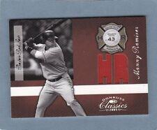2005 DONRUSS MANNY RAMIREZ RARE JERSEY CARD 24/43 JERSEY # BOSTON RED SOX
