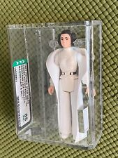 AFA 85 Star Wars 1977 Loose Princess Leia Organa Brown Hair and Belt Kenner NM+