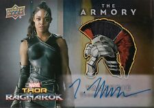 Thor Ragnarok, Tessa Thompson 'Valkyrie ' Relic/Autograph Card ASA3