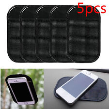 5 Pcs Car Silicone Gel Magic Sticky Pad Anti Slip Non Slip Mat Mobile Cell Phone