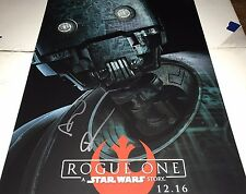 Alan Tudyk Star Wars Rogue One Hand Signed 11x14 Autographed Photo COA As K-2SO