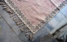 Hand Block Print Carpet Vintage Anatolian Turkish Kilim 3'x5' OUSHAK runners RUG