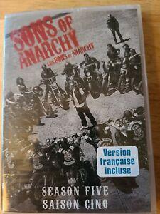 Sons Of Anarchy Season Five Dvd. 4 disc set.