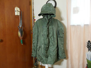 Mens N-3b extreme cold weather parka size Xl Alpha Industries USA Tennessee made