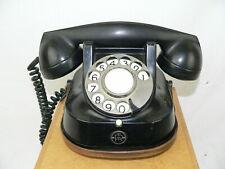 Bakelit Telefon Fa. Bell schwarz gold