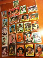 HUGE YANKEE baseball lot Tony Kubek, Ryne Duren + Willie Mays 1950s 60s 70s