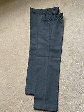 M&S x2 Boys Easy Dressing Grey School Trousers Age 9-10 BNWOT