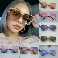 Luxury Fashion XXL Oversized Square Sunglasses Women Outdoor Shades Glasses