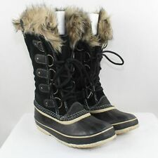 Sorel Women's Black Joan of Arctic Winter Boots Size 9