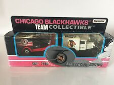 Matchbox Team Collectible Chicago Blackhawks Die Cast Cars NHL 75th Anniversary