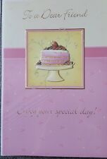 TO A DEAR FRIEND ENJOY YOU'RE SPECIAL DAY BIRTHDAY CARD