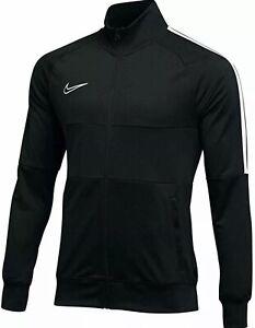 Nike Academy 19 Full Zip Track Jacket Black White AJ9180 Soccer Mens 2XL NWT