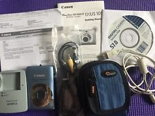 Canon PowerShot Digital ELPH SD1300 IS 12.1 MP Digital Camera - WORKS!