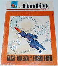 Le journal de TINTIN n° 896 de 1965 magazine ancien revue Taka Takata fusée fufu