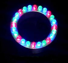 24 LED Multi-Color Fountain/Pond Ring Light-red/blue/green-water feature-garden