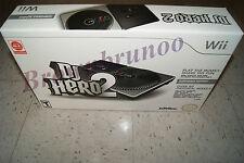 DJ Hero 2 Turntable Controller & Game Bundle Wii NEW