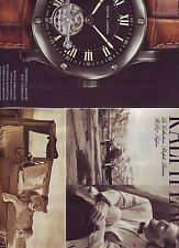 PUBLICITE PAPIER ADVERTISING 014 2013 RALPH LAUREN  montre 2 pages