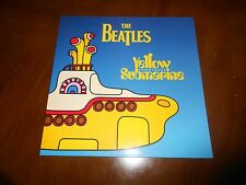 THE BEATLES YELLOW SUBMARINE SONGTRACK COLORED VINYL YELLOW APPLE EXCELLENT