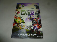 PROMO DISPLAY SIGN PS4 XBOX ONE 360 PS3 PS VITA PC PLANTS VS ZOMBIES GW2 2016 >>