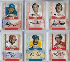 2011-12 ITG Canada vs The World Autographs #ASS Steve Shutt