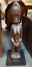 New listing Mid 20th Century Baule Female Fertility Wooden Statue from the Ivory Coast