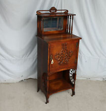 Antique Victorian Oak Music Sheet Storage Cabinet – stick and ball - Fancy
