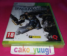 WARHAMMER 40 000 SPACE MARINE XBOX 360 NEUF SOUS BLISTER VERSION 100% FRANCAISE
