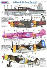 Aml Models Decals 1/72 Aircraft In Finnish Air Force Service