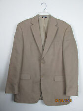 SADDLEBRED Linen Sport Coat Blazer Lined Vacation Cruise wear 42L  Men's,-5