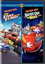 Tom & Jerry:Fast & The Furry/Blast Off To Mars. New!