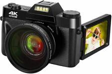 4K Digital Camera 48MP Camera Vlogging Camera for YouTube 30FPS Video Camera 16X