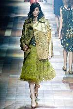 Lanvin Embellished Tulle Skirt  ( Size 4- FR 36)