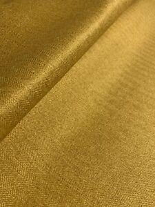 John Lewis & Partners, Bracken Upholstery Herringbone Fabric,Mustard, 3 Metres