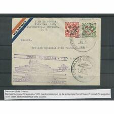 Suriname LP8 en LP10  DO-X op brief naar DEMERARA CV 200 €