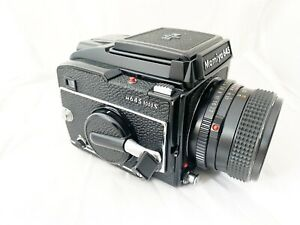 Mamiya M645 1000s & 80mm 2.8 Sekor Lens, New Seals & Battery, Working Perfectly