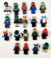 Lego Diver Scuba Sea with Accessories Random Town City Minifigures Lot of 5