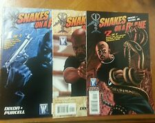 Snakes On A Plane (2006) #1 2 Nm- Variant Set Dc Wildstorm Movie Comic
