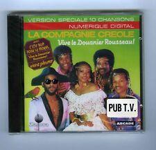 CD (NEW) LA COMPAGNIE CREOLE VIVE LE DOUANIER ROUSSEAU