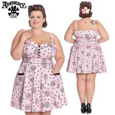 Hell Bunnny Keepsake Rockabilly Pinup Swing Retro Vintage Day Mini Dress  XL-4XL