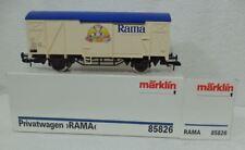 """Marklin Spoor 1 85826 SPECIAAL Gesloten goederenwagen """"RAMA"""" verende buffers"""