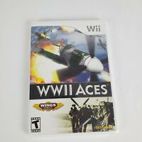 NEW! WWII Aces (Nintendo Wii, 2008) WW2 Aces Wings Series NEW & FACTORY SEALED!