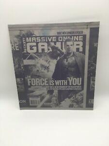 Star Wars The Old Republic - Beckett Massive Online Gamer Metal Printing Plate