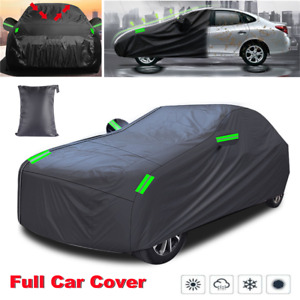 """Full Car Cover Waterproof Dust-proof UV Resistant Outdoor Protection 228x69x47"""""""