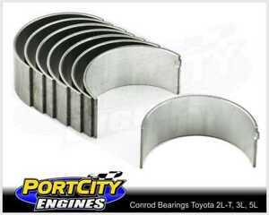 Conrod Bearing set Toyota 4cyl Hilux 4 Runner 2L-T 2.4L 3L 2.8L 5L 3.0L 4B1720