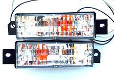 BMW 3 Series E30 1988-1994 CRYSTAL CLEAR turn signal indicator lights 1 set pair