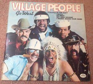 1979 VILLAGE PEOPLE GO WEST LP MERCURY 9109 621 A1/A2 EXCELLENT