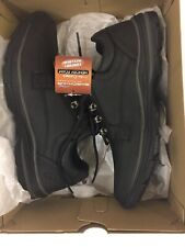 Mens Black Skecher Memory Foam With Air Cool Size 9